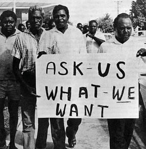Aboriginal protests